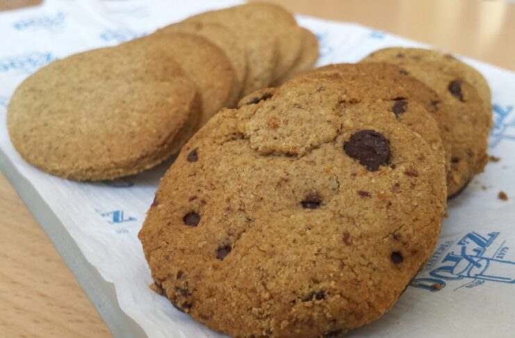 Chufacookies sin gluten en horchatería Dolz (Valencia)