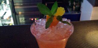 Dan Hernández's Cocktail en Ginebre Restaurant Gin Club (Valencia)