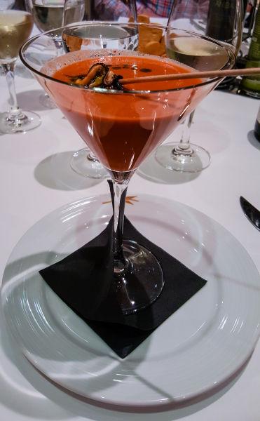II Foro Gastronómico de El Symposio: la clóchina valenciana - Con sopa de tomate