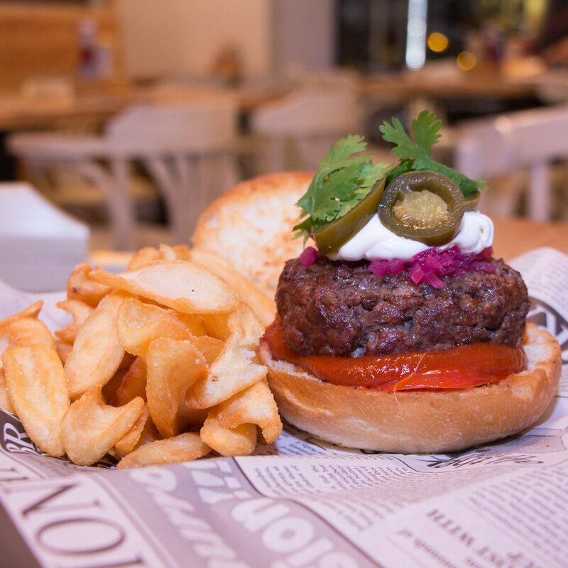Burger Beer, hamburguesas caseras a la brasa (Valencia)