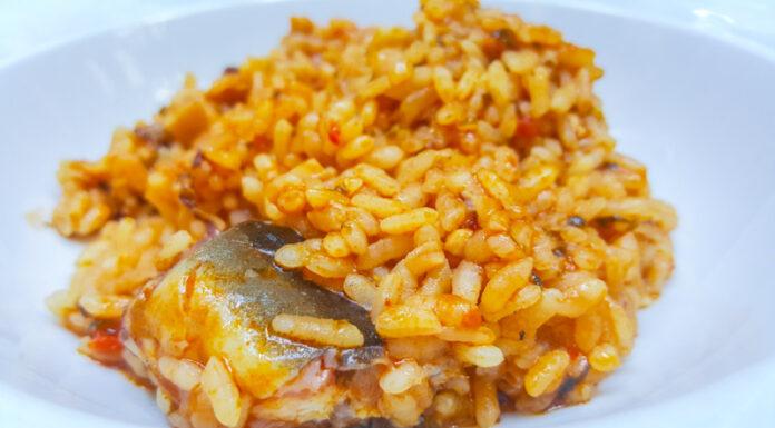 """Presentación de las """"Jornadas Gastrónomicas del arroz y el vino valenciano"""" - Arroz meloso """"all i pebrat"""""""