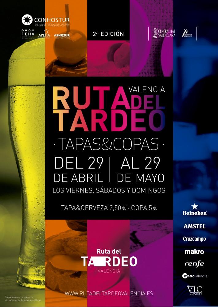 II Edición de la Ruta del Tardeo en Valencia