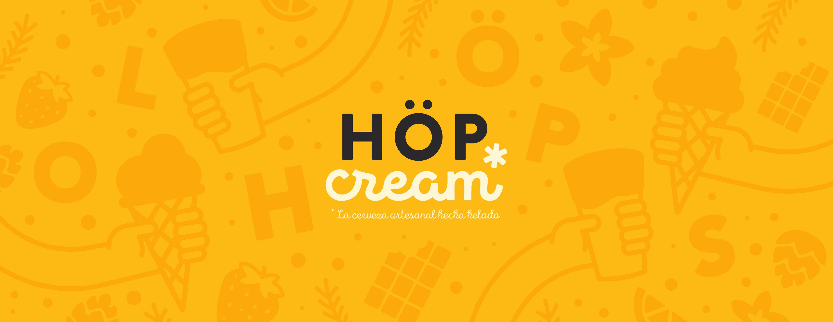 Höp Cream - La cerveza artesanal hecha helado