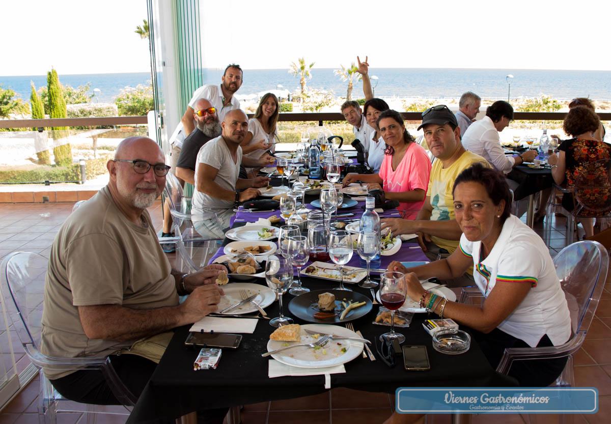 Todo el equipo de #AlmeríaLVT