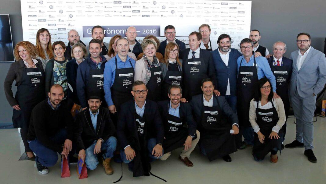 50 chefs de prestigio, grandes nombres de la panadería y los mejores maestros arroceros preparan el menú de Gastrónoma 2016