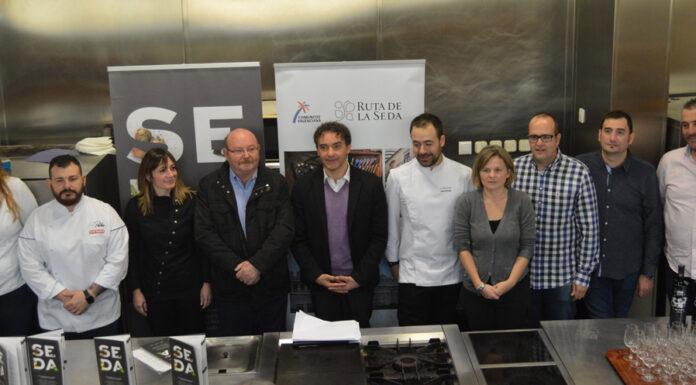 La alta gastronomía valenciana se une en el 'recetario ruta de la seda'