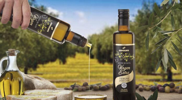 Consum lanza su primer aceite de oliva virgen extra Premium de origen 100% español