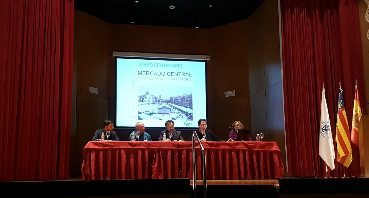 El Mercado Central presenta el libro de su centenario