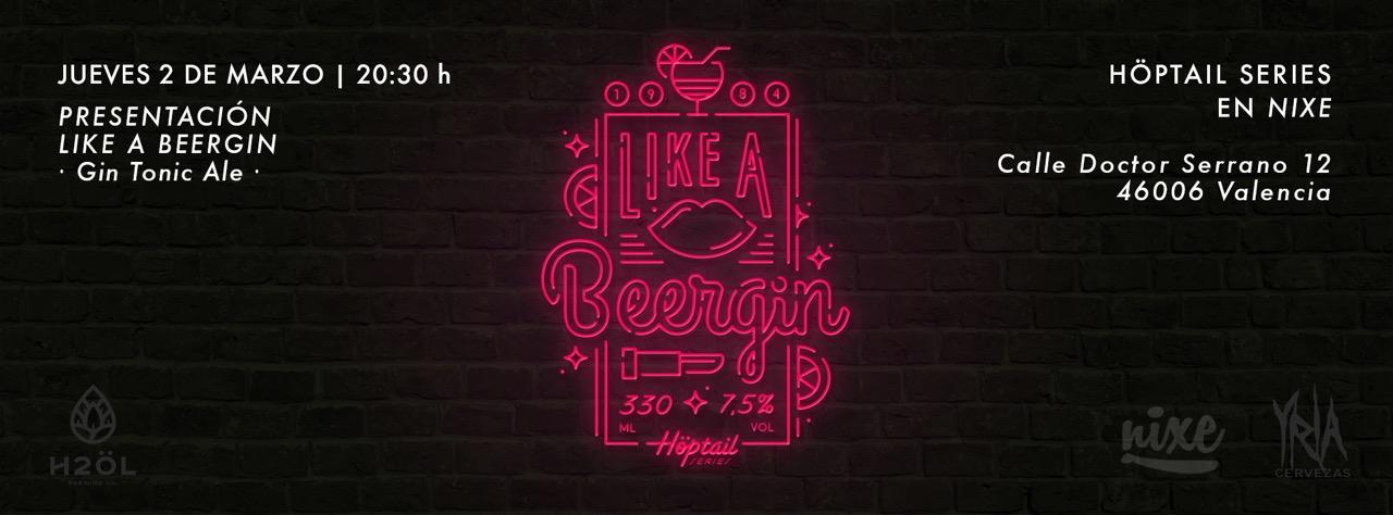 Presentación de Like a Beergin - la nueva cerveza-gin tonic de H2Öl Brewing