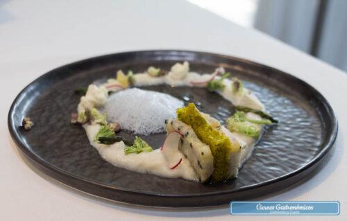 Restaurant L'Antic Molí - Jornadas de la Galera 2017 - Sandwich de galera, manzana, albahaca y bola-apio