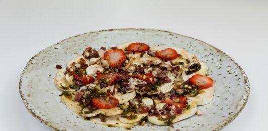 La receta de los Viernes: Carpaccio de champiñones y jamón