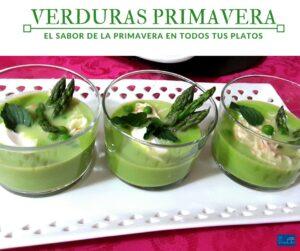 Curso de verduras de primavera en la escuela de cocina Eneldo