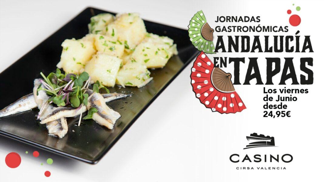 Homenaje a la gastronomía andaluza, cada viernes de junio en Casino Cirsa Valencia