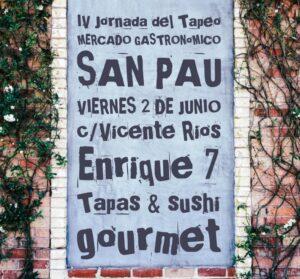 IV Jornada del tapeo del Mercado San Pau (Valencia)