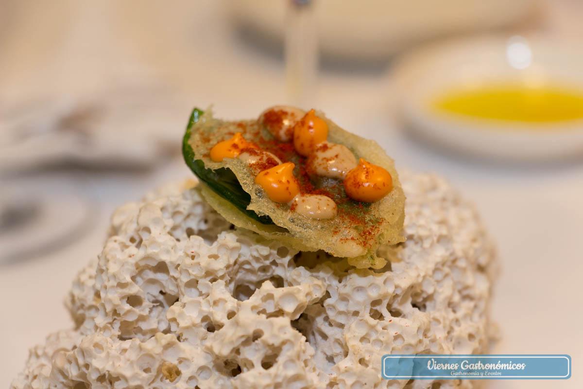 Albahaca - tomate - piñones - Restaurante Saiti