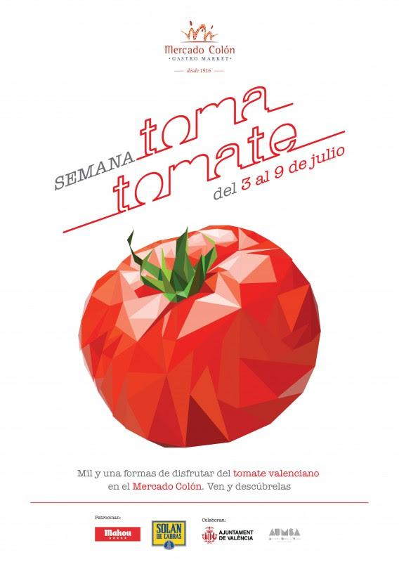 Toma tomate: el Mercado Colón dedica una semana al tomate valenciano