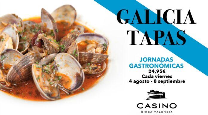 Las excelencias gastronómicas de Galicia, todos los viernes de agosto en Casino Cirsa Valencia