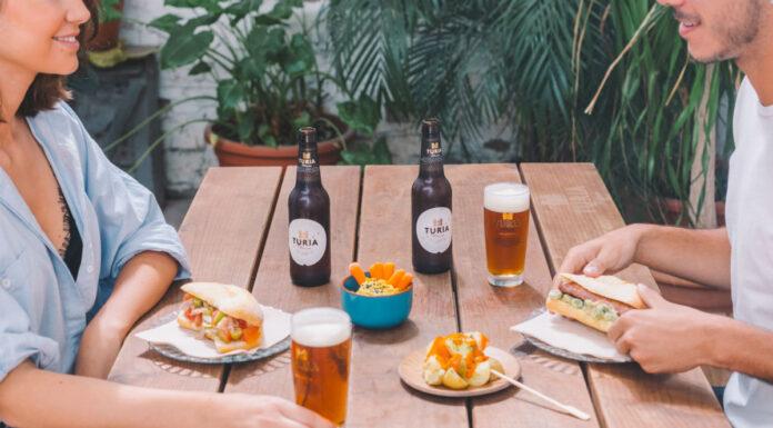 Cerveza Turia lleva 'A la Taula' la pataqueta de l'horta de València
