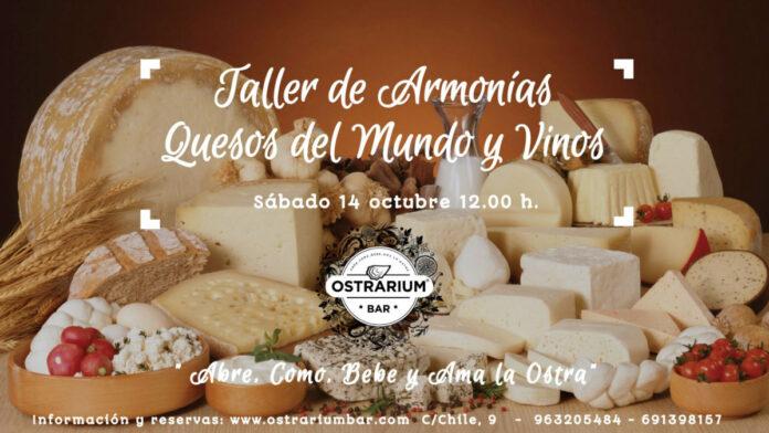 Taller de quesos y vinos en Ostrarium