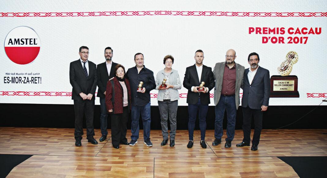 Marvi, Casa Cent Duros y Les Tendes, ganadores de los