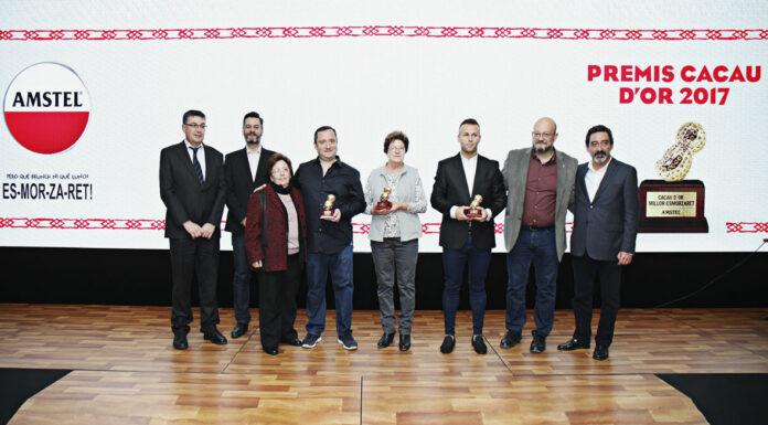 """Marvi, Casa Cent Duros y Les Tendes, ganadores de los """"III Premis Cacau d'Or"""", con los que Amstel reconoce los mejores almuerzos de la Comunitat"""