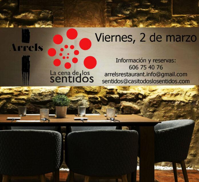 La Cena de los Sentidos en Arrels Restaurant (Sagunto)