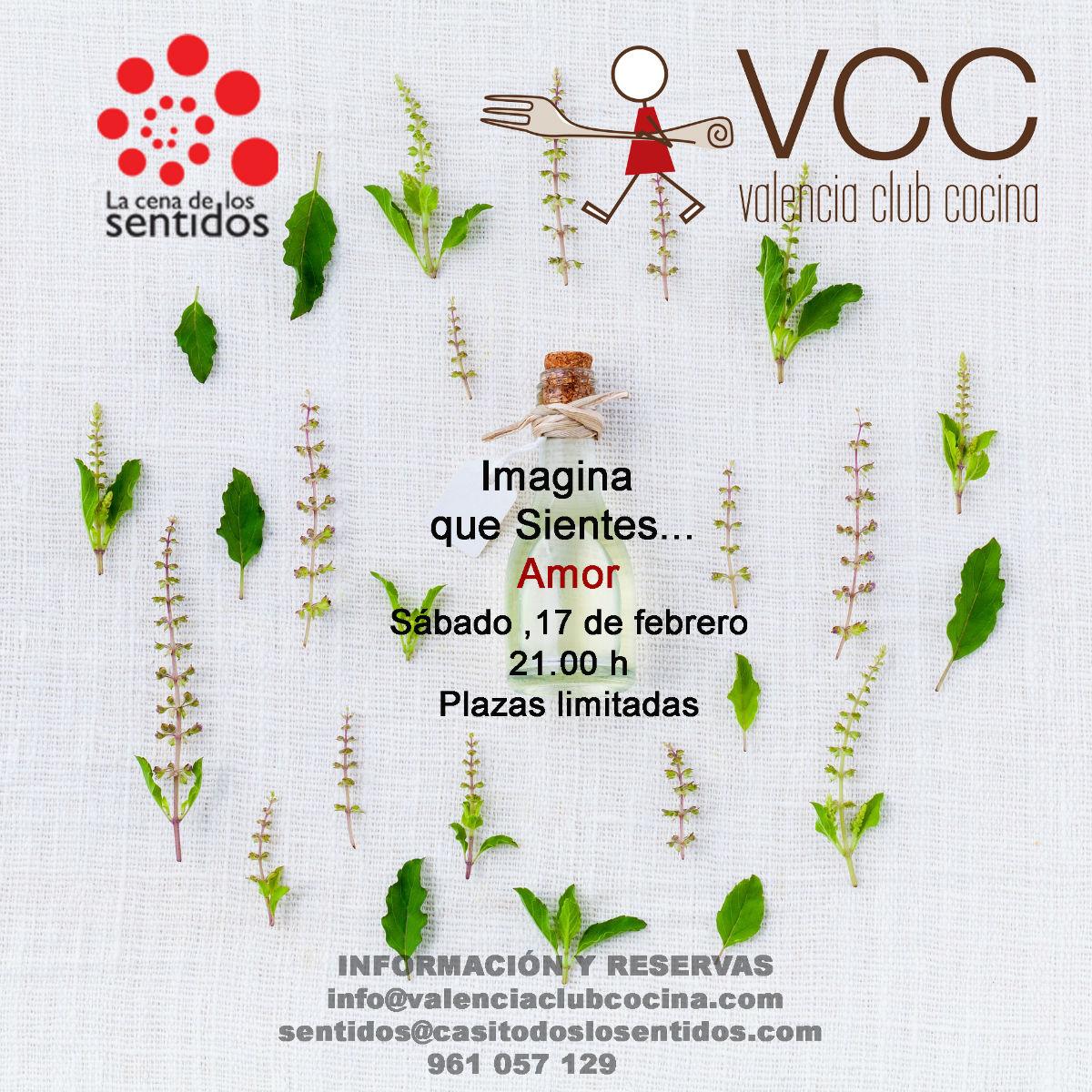 La cena de los sentidos en valencia club cocina - Valencia club de cocina ...