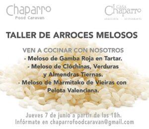 Taller de arroces melosos en Casa Chaparro