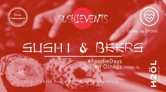 Sushi & Beers: Maridajes cerveceros en Olhöps