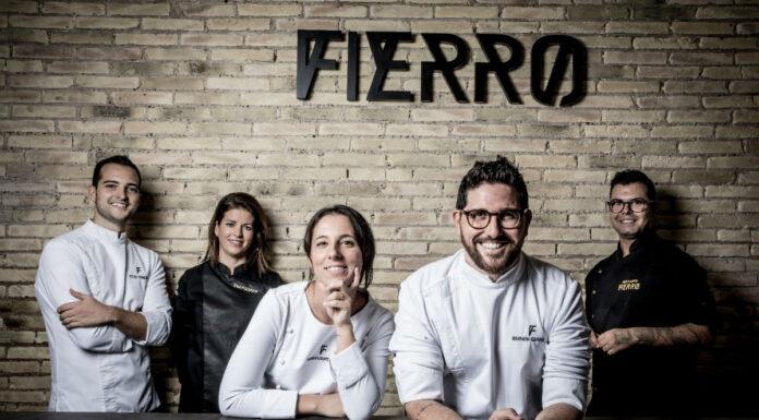 El restaurante Fierro abrirá también a mediodía con un menú especial que cambiará cada mes