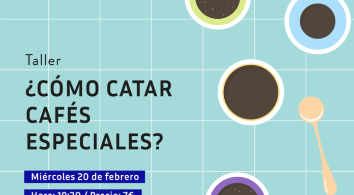 "Taller ""¿Cómo catar cafés especiales?"" en Bluebell Coffee"