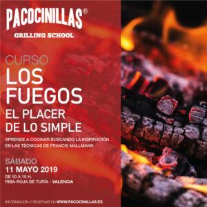 """Curso """"Los fuegos. El placer de los simple"""" en la Pacocinillas Grilling School"""