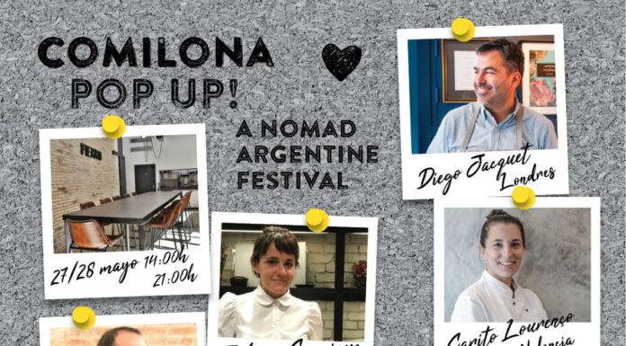 Comilona Pop Up aterriza en Valencia de la mano de Fierro Restaurante