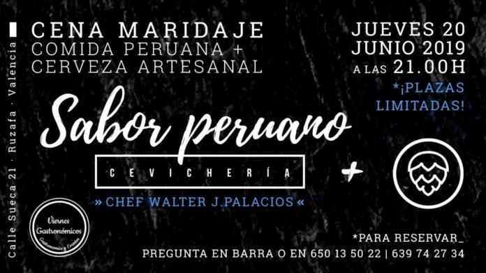 Cena maridaje en Olhöps: comida peruana y cerveza artesanal