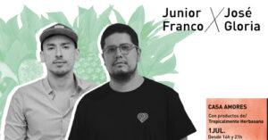 Table for a day: Junior Franco x Jose Gloria en Casa Amores (Valencia)