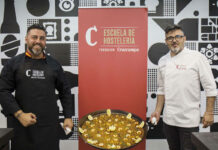Sesión de gastronomía valenciana a cargo de Marcos Villar de Masterchef y la Escuela de Hostelería Fundación Cruzcampo