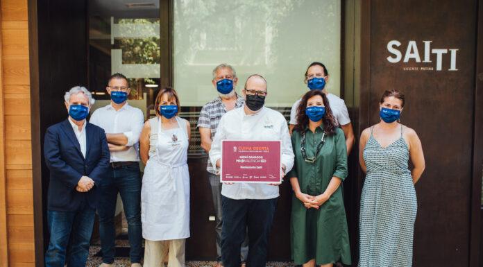 """Saiti recibe el premio Modo València On al menú """"más sostenible y autóctono"""""""