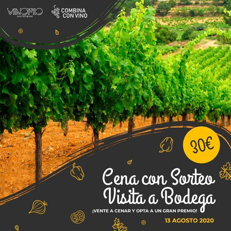 La Cena Maridaje en Vinomio (Valencia)