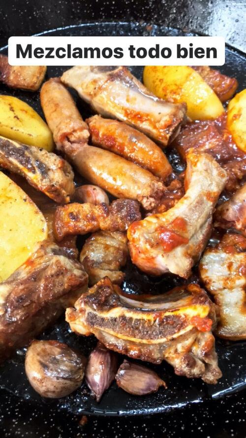 """""""Paso a paso"""" con Viernes Gastronómicos y Luis Asensio: receta de fideuá al horno"""