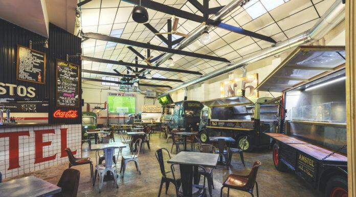 Abre en Valencia El Garaje, un antiguo taller de los 60 reconvertido en espacio gastronómico