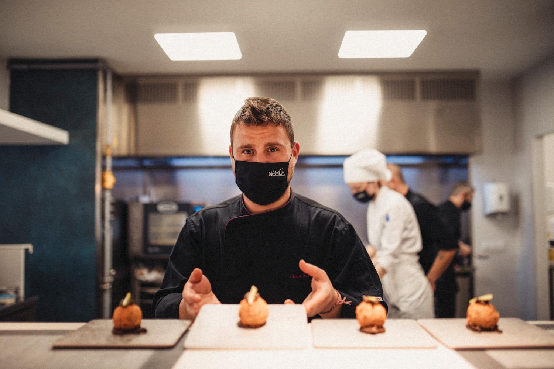 Víctor Soriano y 'Namúa', su recién inaugurado restaurante gastronómico, acogen una nueva edición de 'Cocineros con futuro'